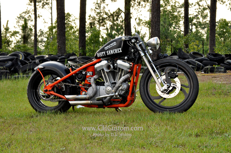 Jonny\'s Court House Custom, 2007 Fuel Injected Sportster Rigid ...