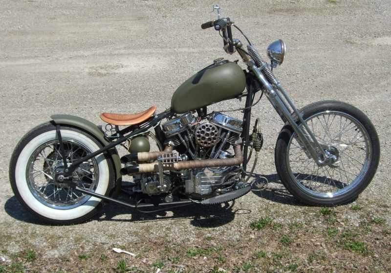 custom motorcycles choppers and bobbers by chc washington c h ohio 43160